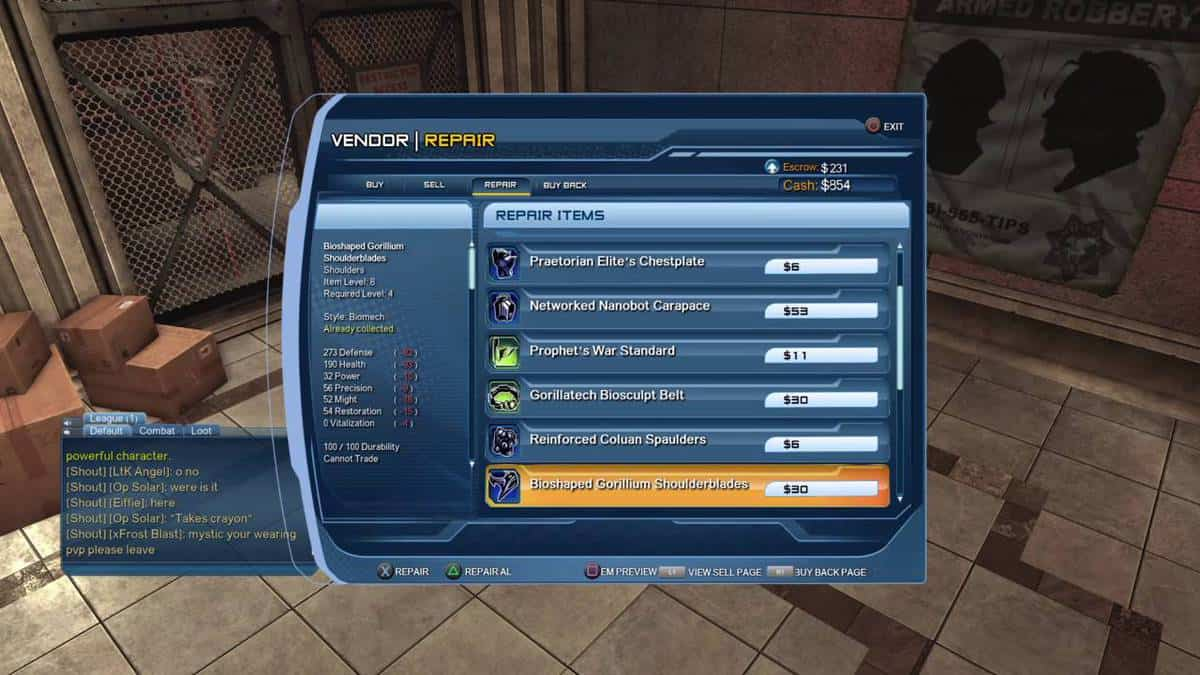 DC Universe Online Errors and Fixes