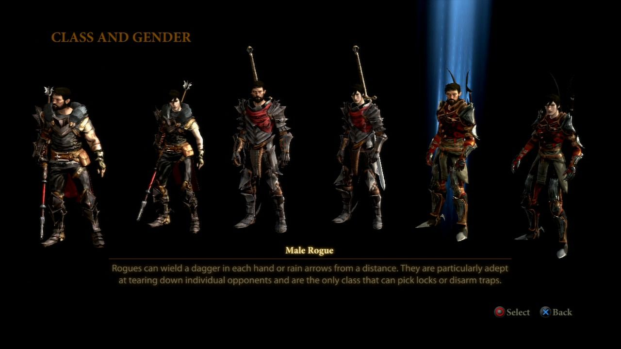 Dragon Age 2 Classes