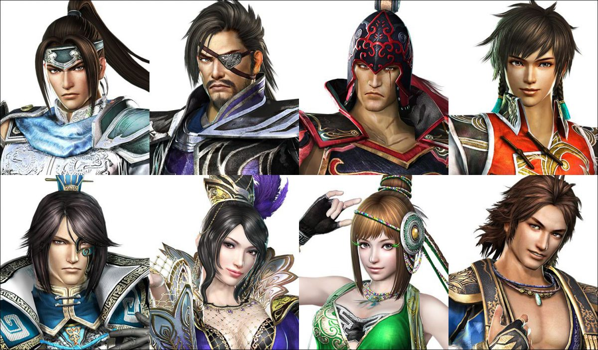 Dynasty Warriors 7 Characters