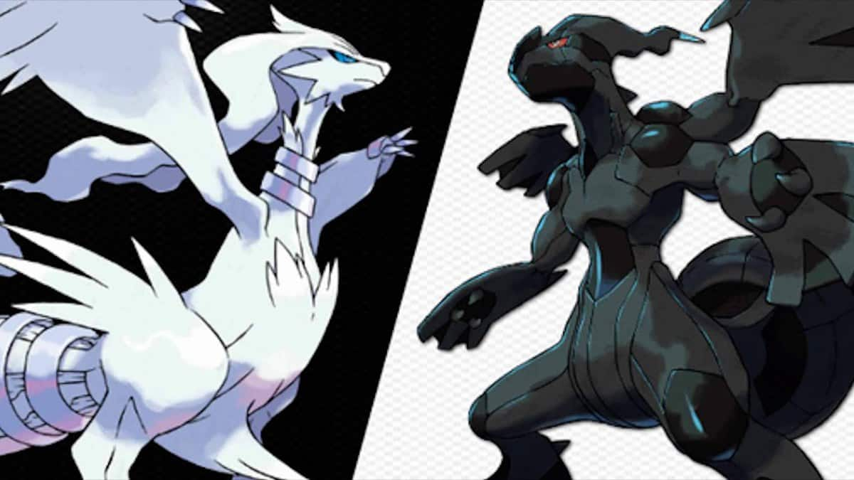 Pokemon Black and White Legendary Pokemon