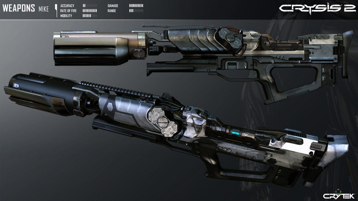 Crysis 2 Weapons