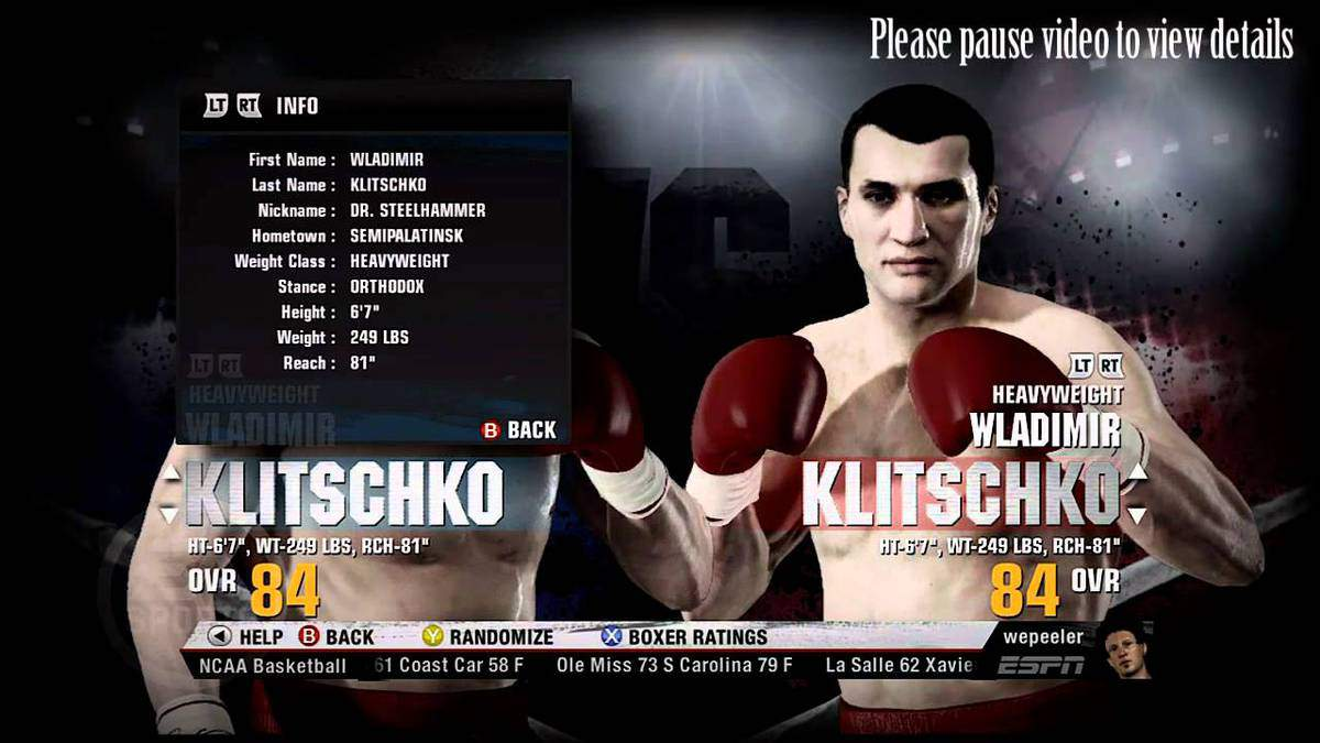 Fight Night Champion Fighters Guide