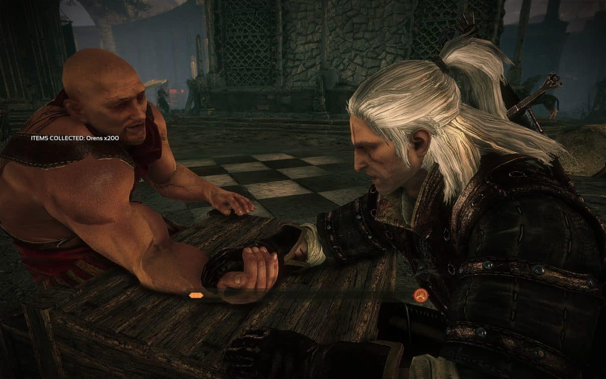 The Witcher 2 Arm Wrestling Guide