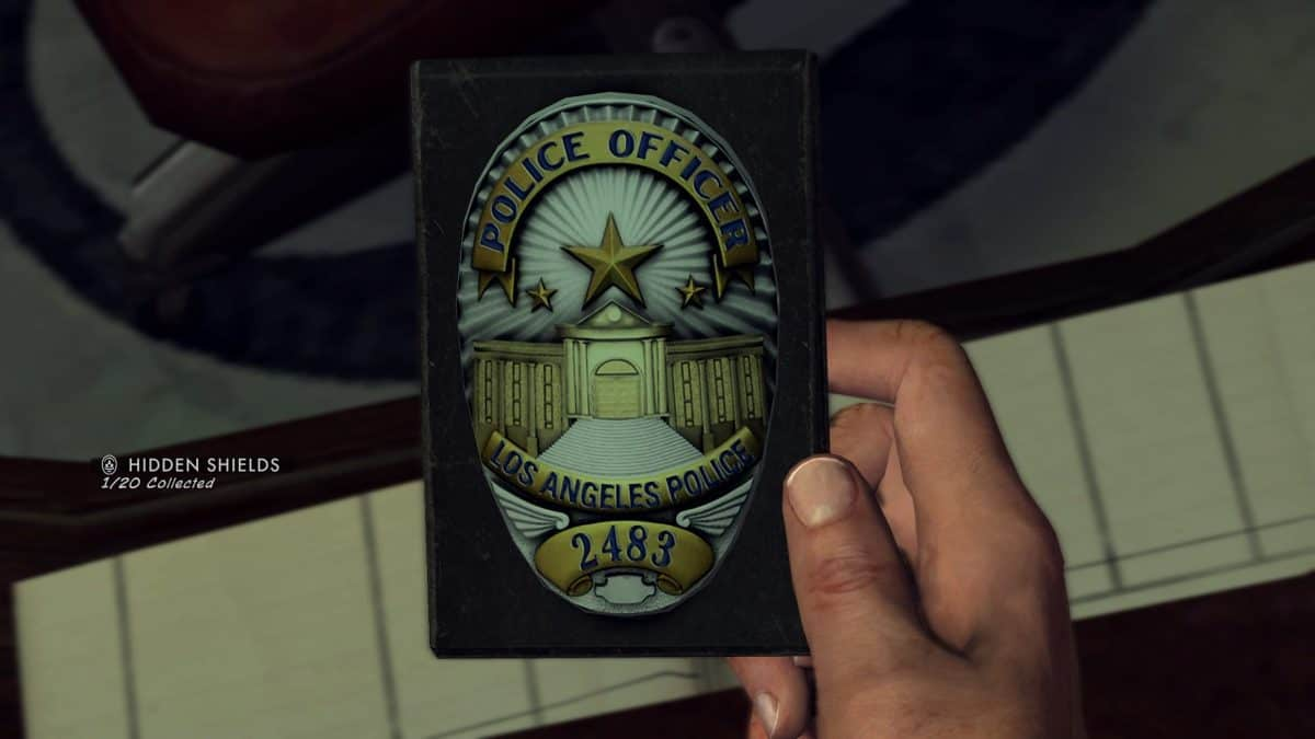 LA Noire Police Badges Locations Guide