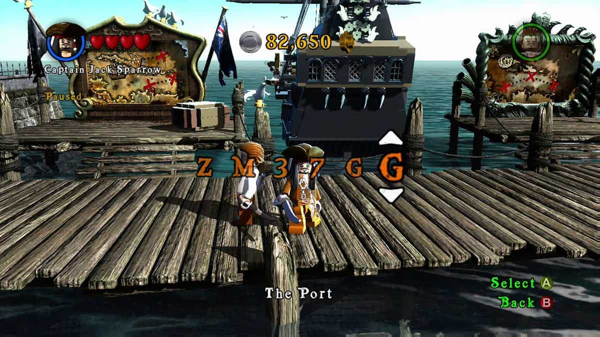 LEGO Pirates of the Caribbean Cheats