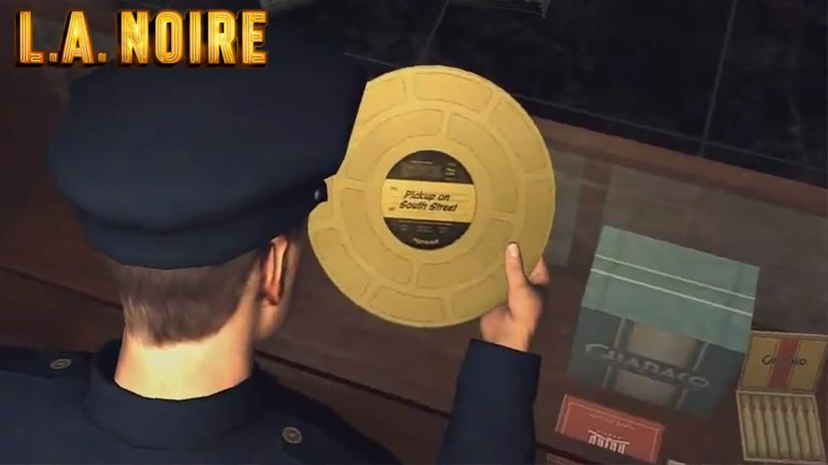 LA Noire Gold Film Reels Locations Guide