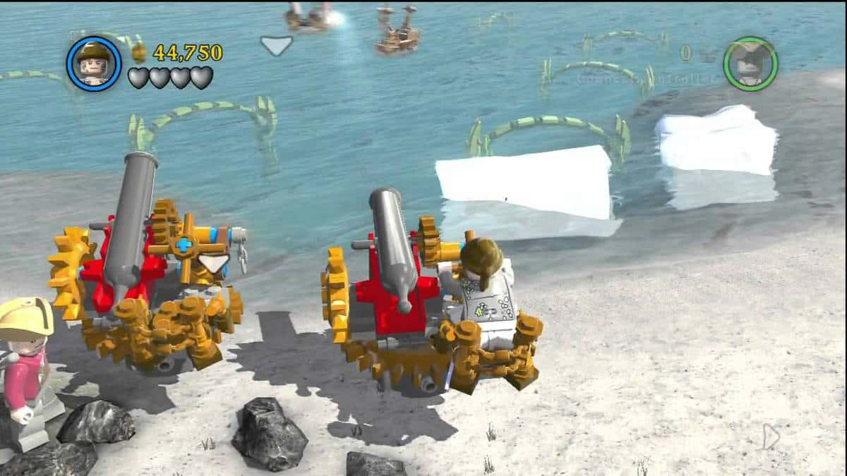 Lego Pirates of the Caribbean Minikit locations