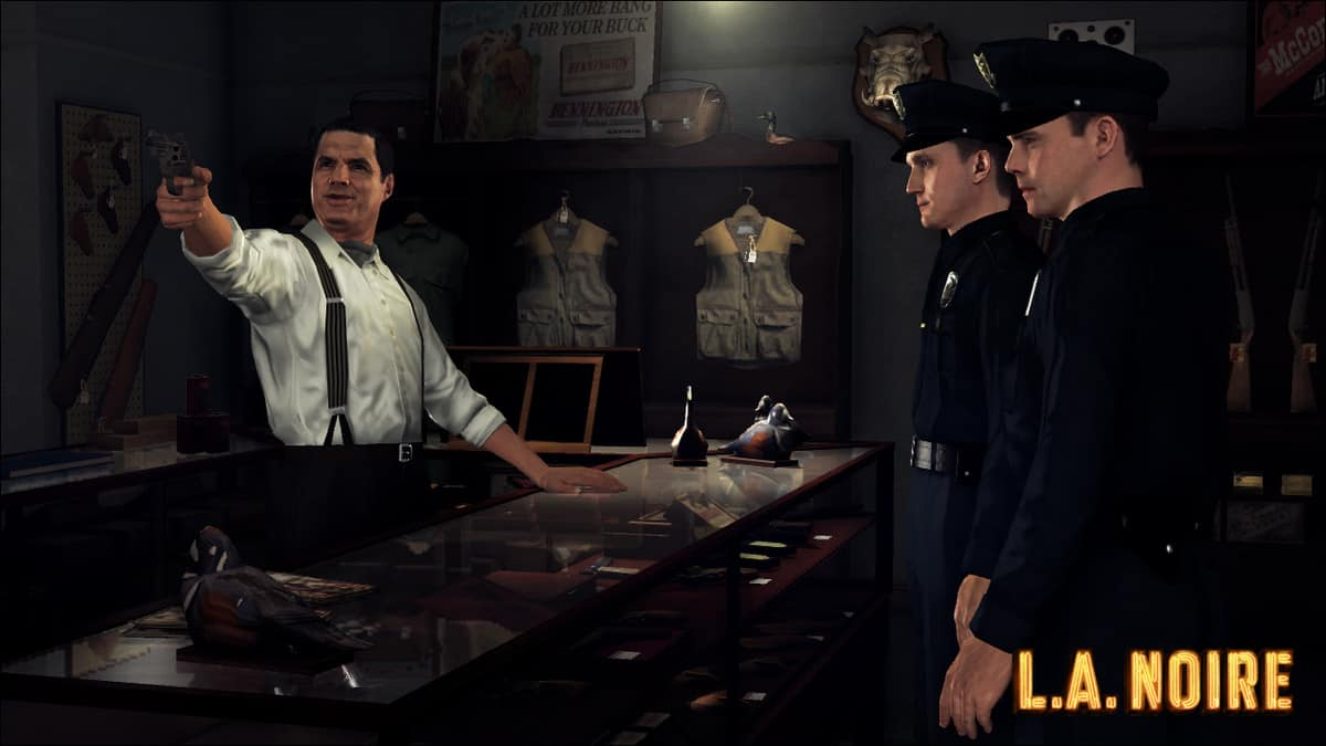 LA Noire Weapons Guide