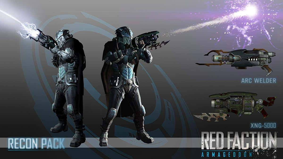 Red Faction Armageddon Weapons