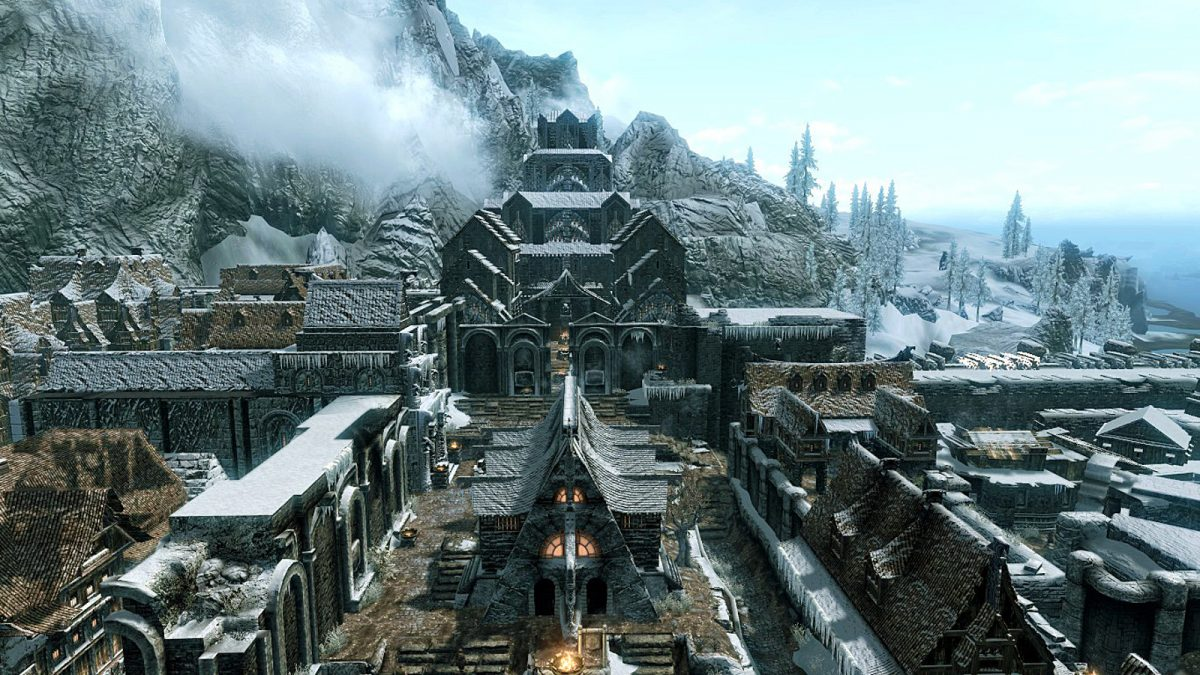 Skyrim Cities and Famous Locations