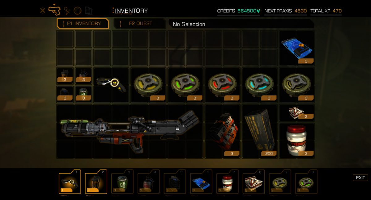 Deus Ex Human Revolution Weapons