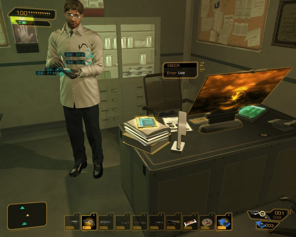 Deus Ex: Human Revolution Unique XP Books Location Guide
