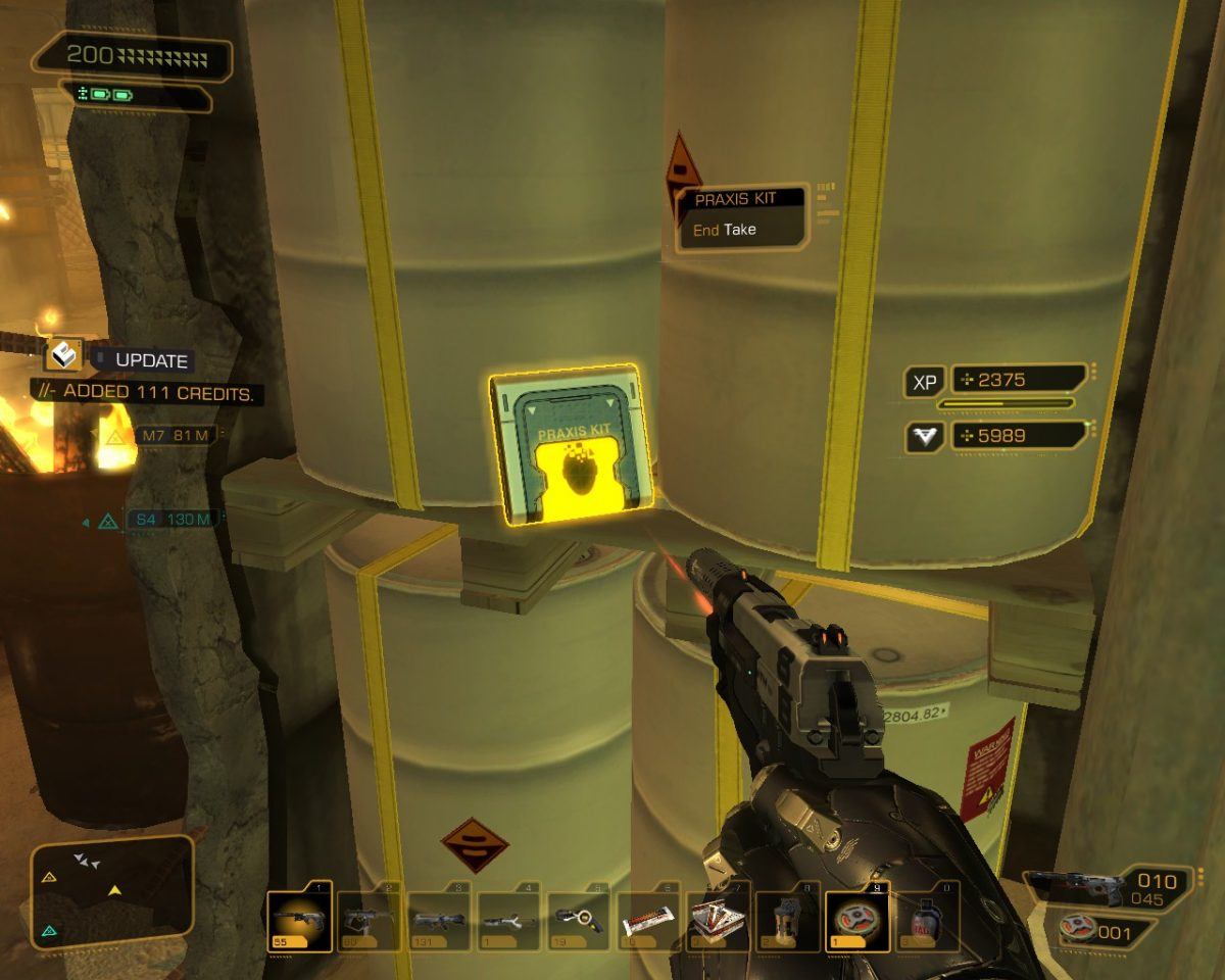 Deus Ex: Human Revolution Praxis Kits Locations Guide