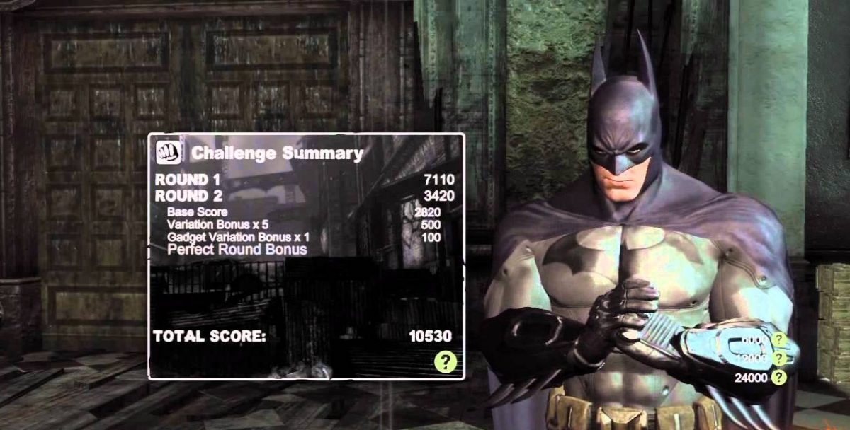 Batman Arkham City Challenges