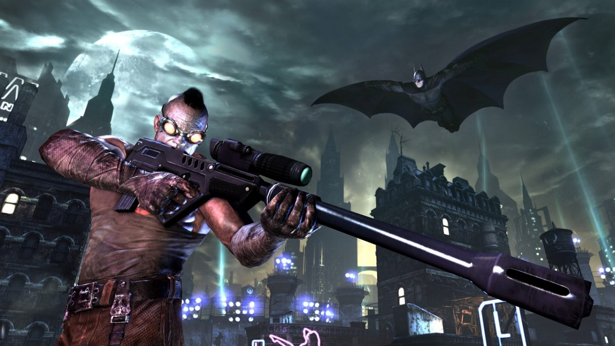 Batman Arkham City Gadgets