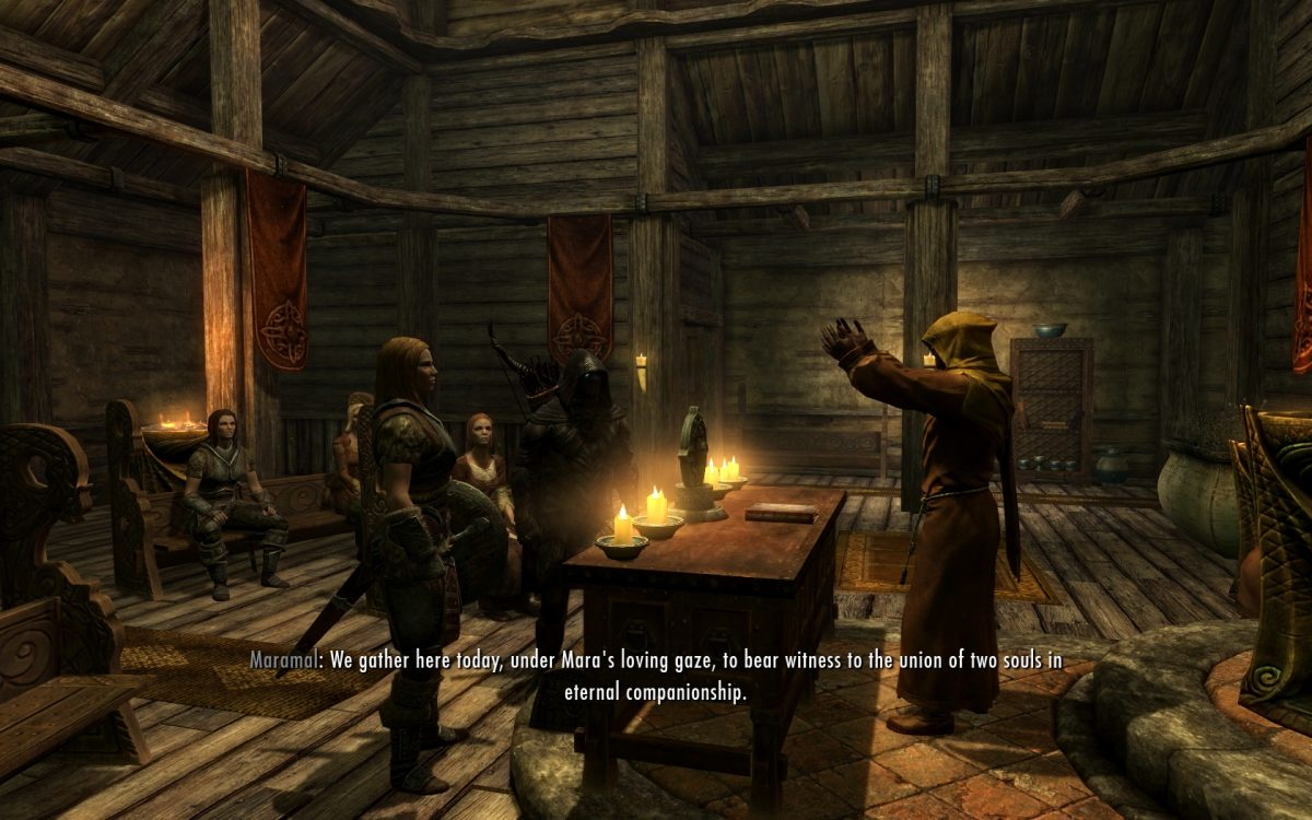 Getting Married in Skyrim