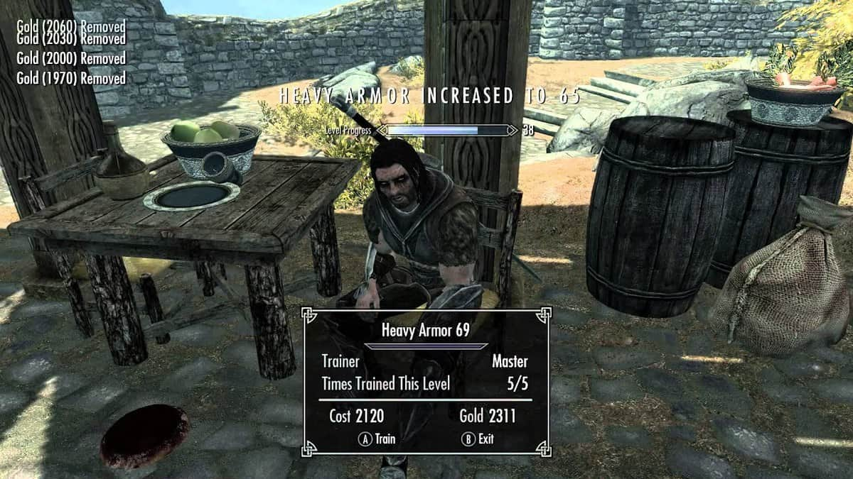 Skyrim Skill Trainers Locations Guide