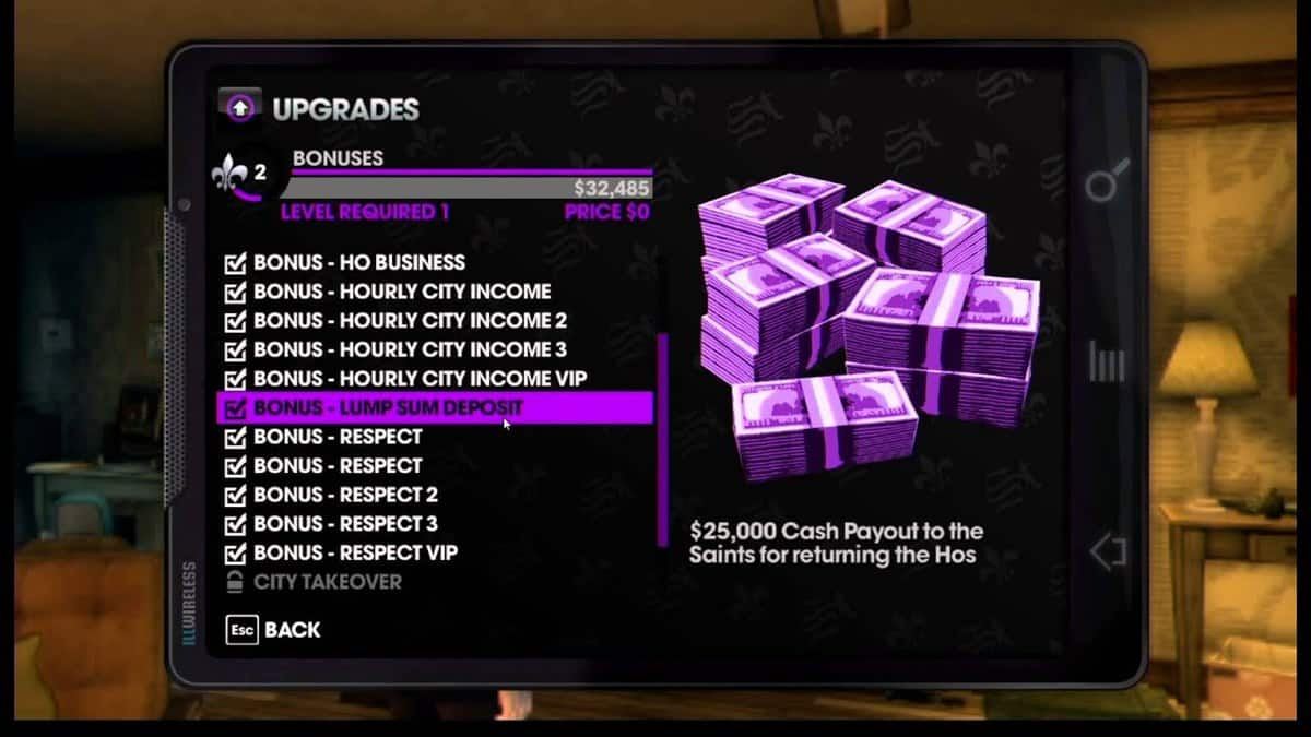 Saints Row The Third Unlockables