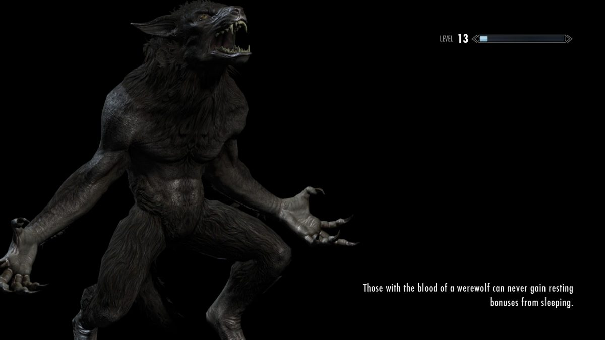 How To Become Werewolf in Skyrim