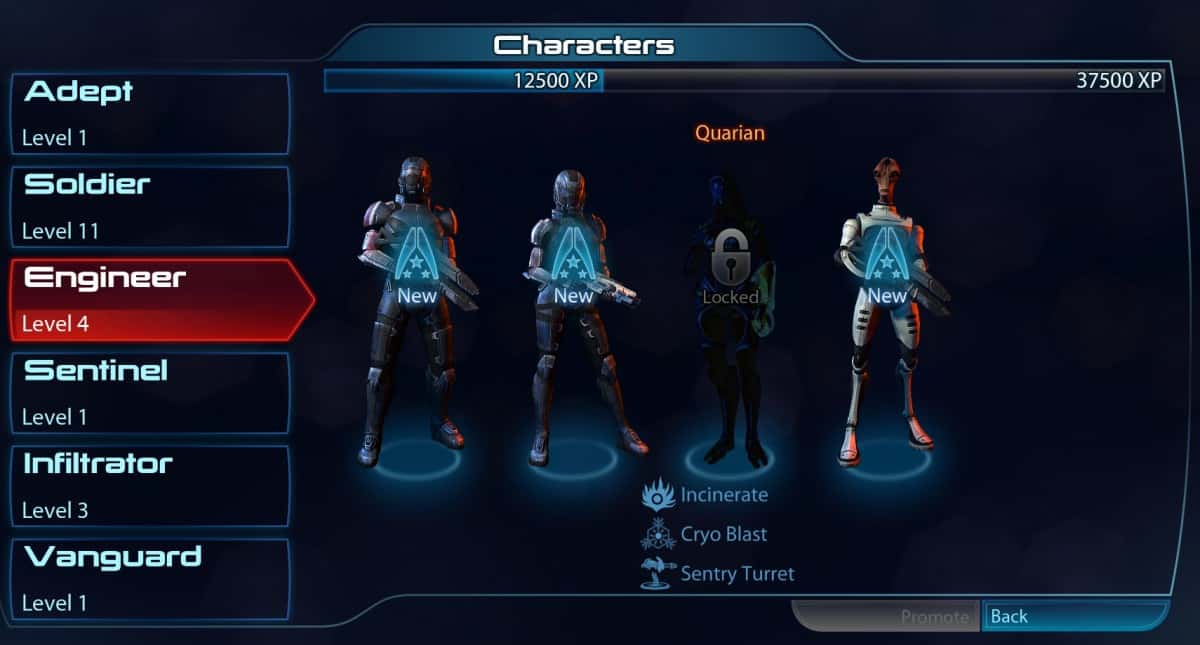 Mass Effect 3 Classes and Abilities Guide