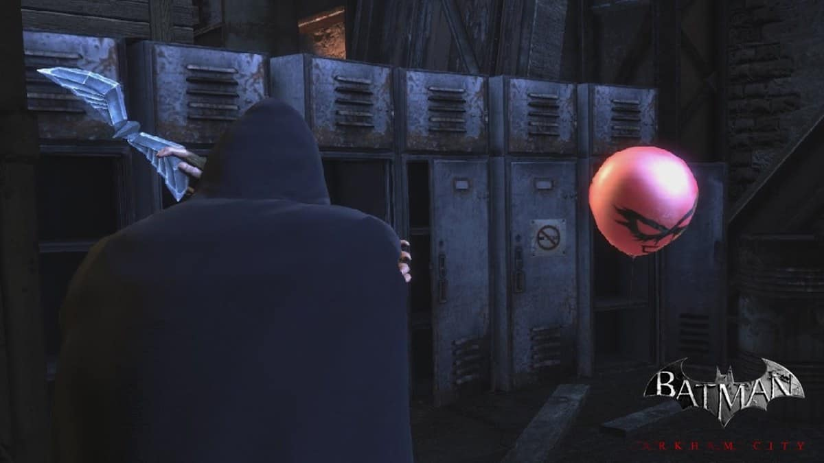 Batman Arkham City Harley Balloons Locations Guide