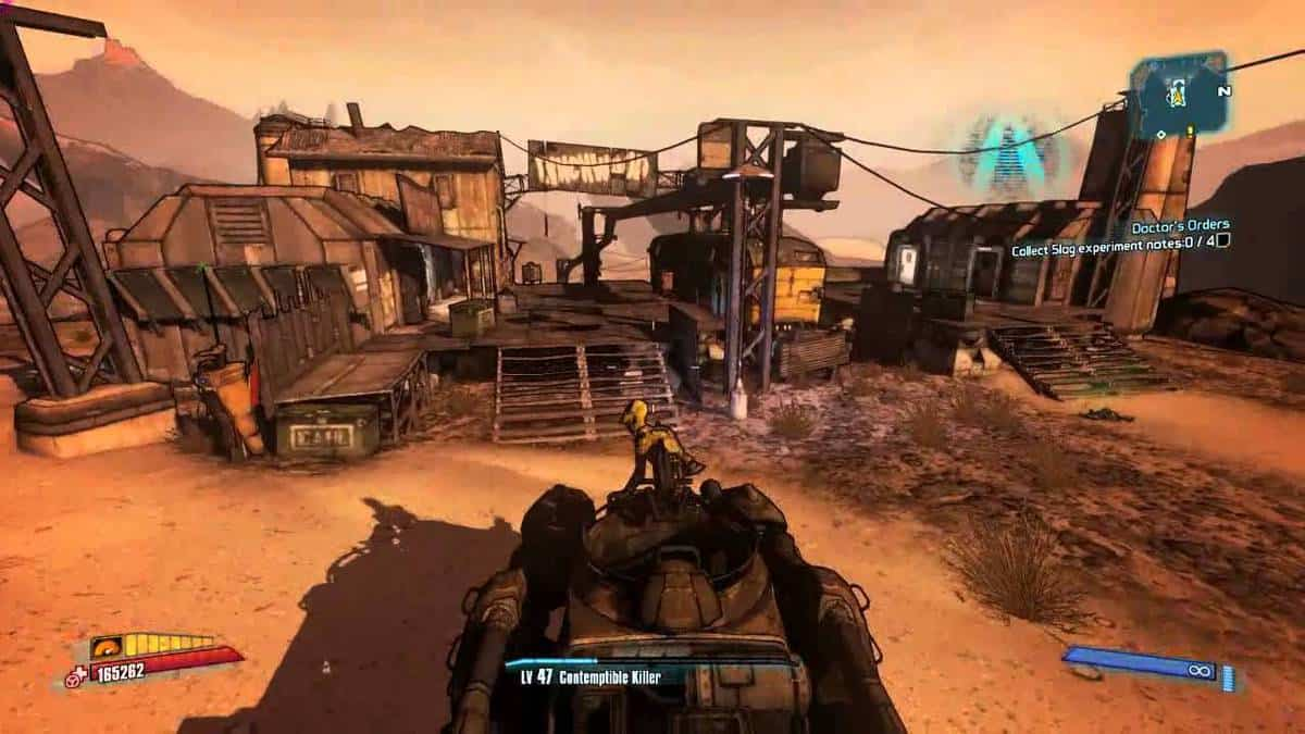 Borderlands 2 Named Locations Guide
