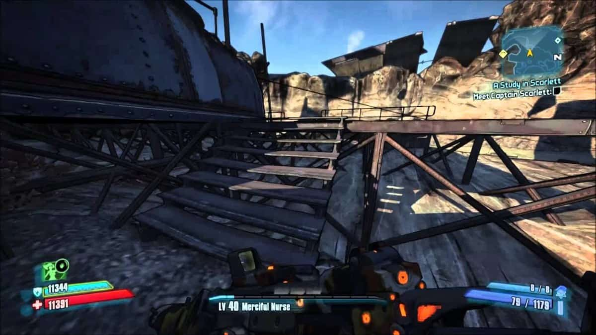 Borderlands 2 Unseen Predator Achievement