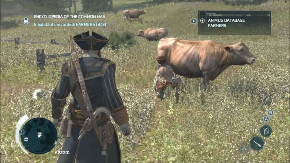 Assassins Creed 3 Encyclopedia of the Common Man