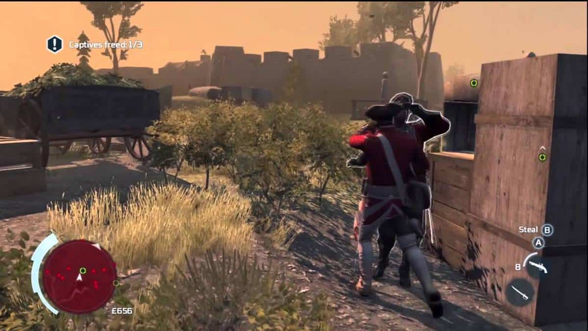 Assassin's Creed 3 Sequence 2 100% Sync Guide