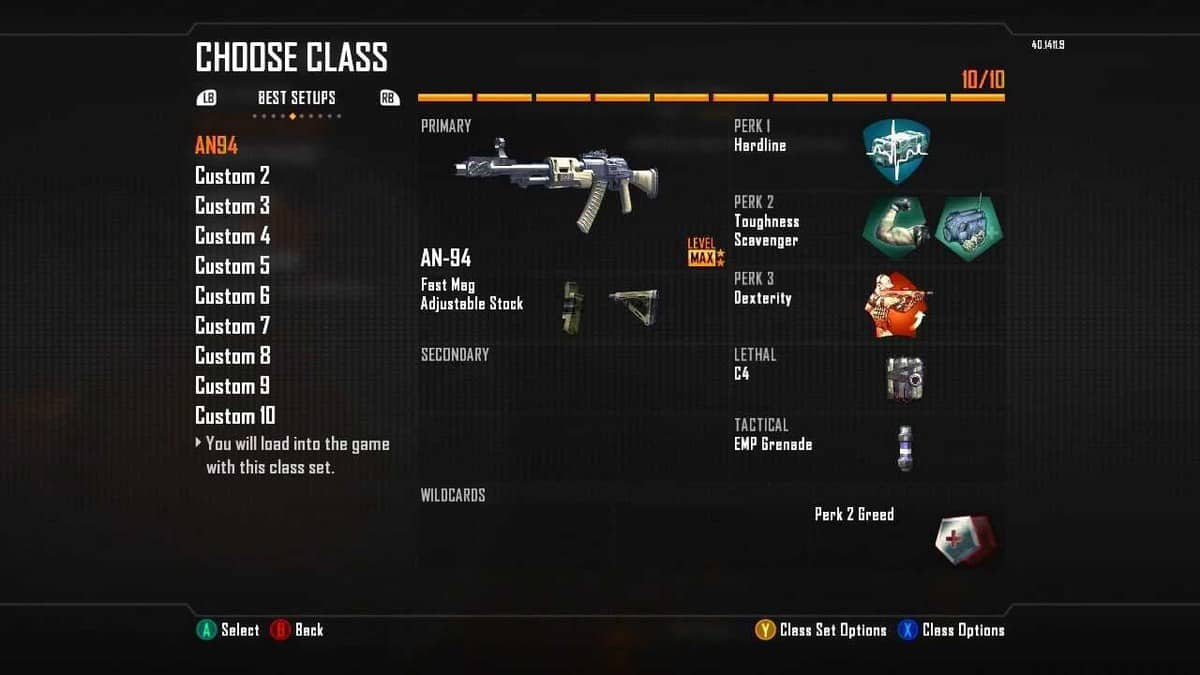 Black Ops 2 Multiplayer Class Loadouts Guide