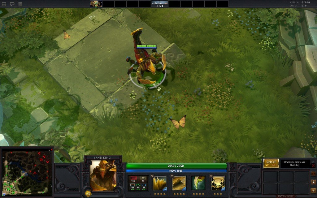 dota 2 sand king guide builds abilities items and strategy