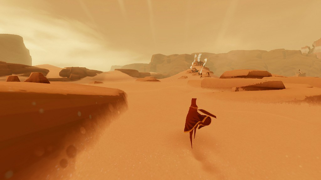 Journey PS4 Version isn't Too Far, Vita Port Would be Awesome