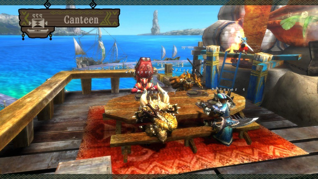 Monster Hunter 3 Ultimate: Latest Update Enables Off-Screen Play