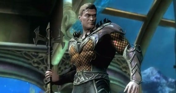 Injustice Gods Among Us Aquaman Moves Combos and Strategy Guide