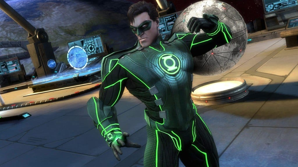 Injustice: Gods Among Us Green Lantern Moves, Combos and Strategy Guide