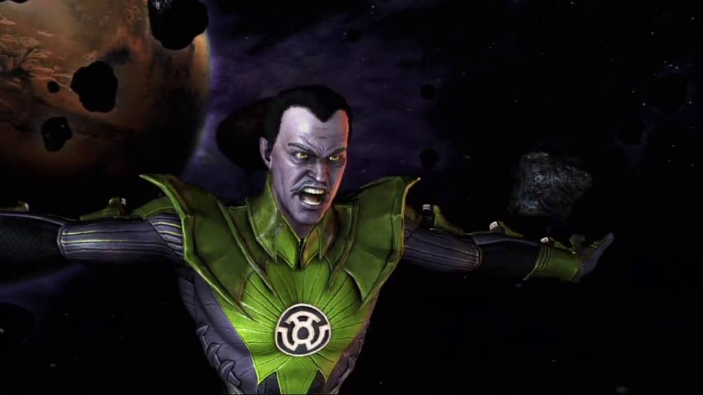Injustice Gods Among Us Sinestro Moves Combos And Strategy Guide - Injustice god among us buttom map