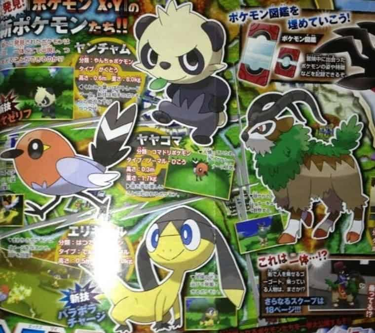 Pokemon X and Y Leak