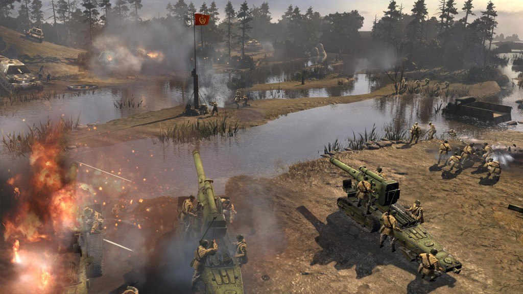 Company of Heroes 2 Anti-Tank Guns and Howitzers Guide