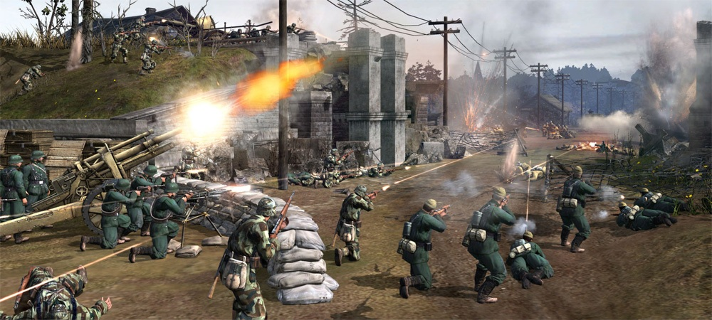 Company of Heroes 2 - How To Setup Field Defenses