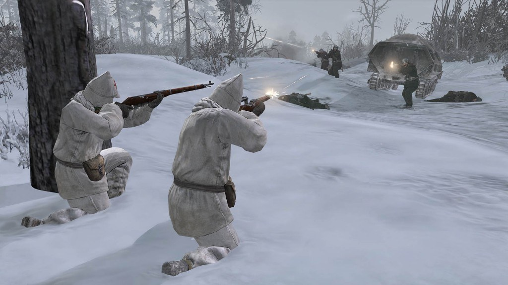 Company of Heroes 2 Snipers