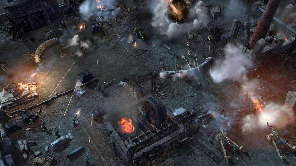 Company Of Heroes 2 How To Control Units Movement Retreat And Formations Segmentnext