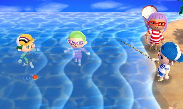 Animal Crossing: New Leaf Diving and Sea Creatures Guide - How To Catch