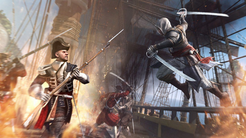 Ubisoft Greets Assassin's Creed 4 Players With The Flying Dutchman Event