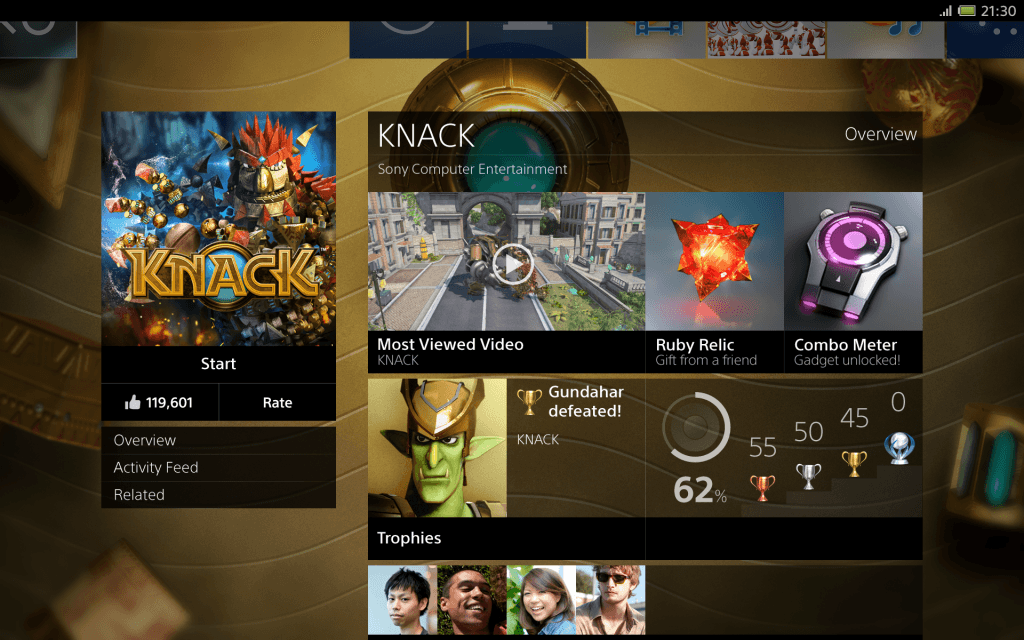 Check Out the New PS4 GUI Images
