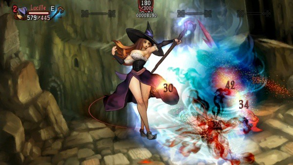 Dragon's Crown Sorceress Builds, Combat and Skills Guide