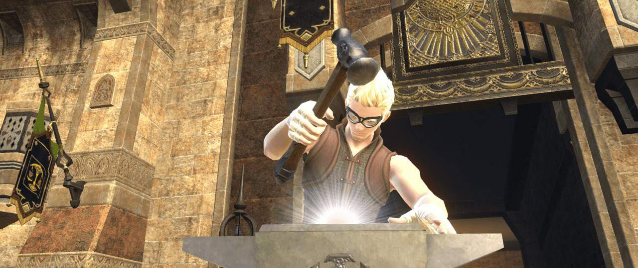 FFXIV Online: ARR Crafting Basic Guide - How To Craft
