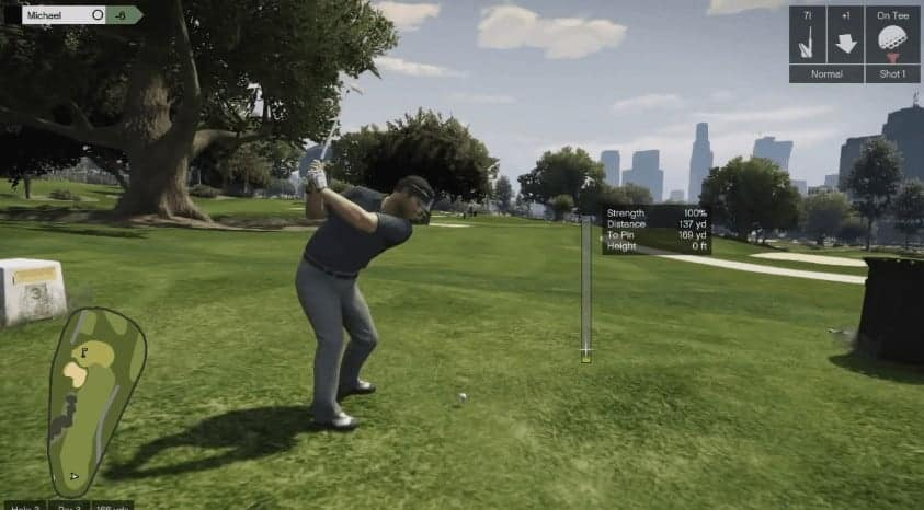 How To Play Golf in GTA 5