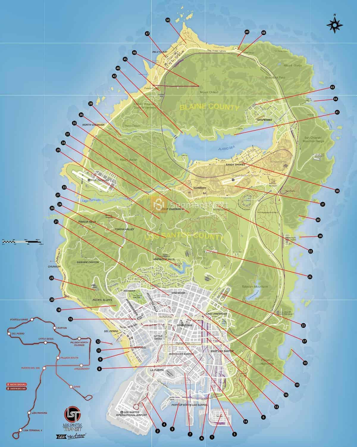 GTA 5 Letter Scraps Locations Guide   Where To Find All GTA V