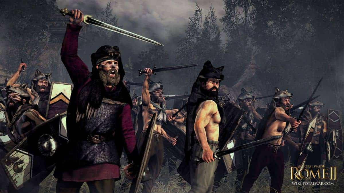 Total War Rome 2 Suebi Units Composition Tips and Strategy Guide