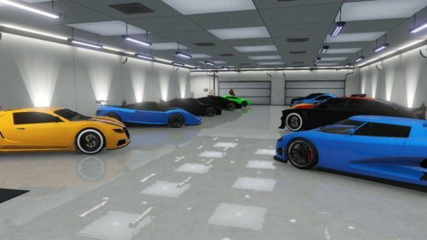 GTA online garage locations guide